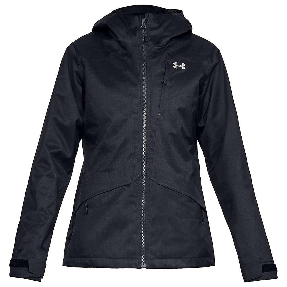 アンダーアーマー Under Armour レディース ジャケット アウター【sienna 3-in-1 jacket】Black/Black/Ghost Gray