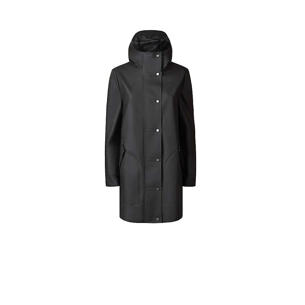 ハンター Hunter レディース コート アウター【original rubberised hunting coat】Black