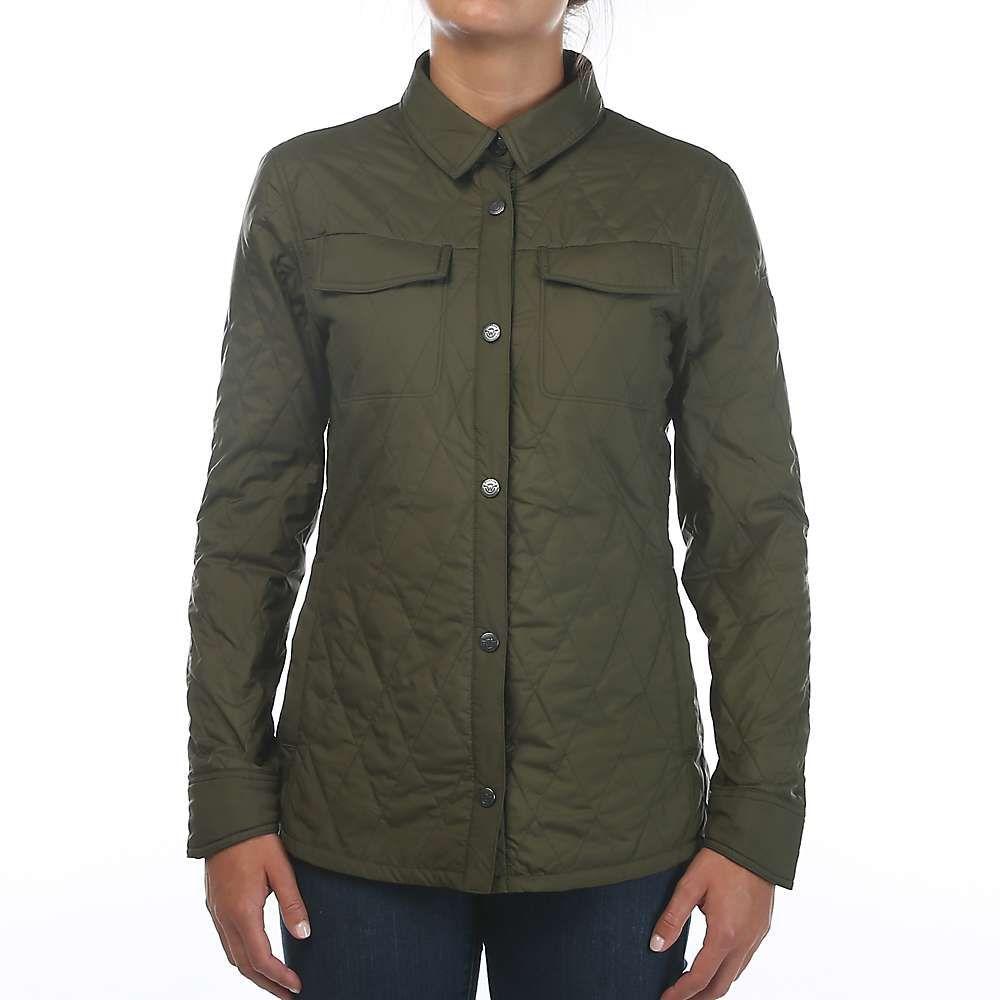 ムースジョー Moosejaw レディース ジャケット シャツジャケット アウター【lafayette insulated shirt jacket】Leaf