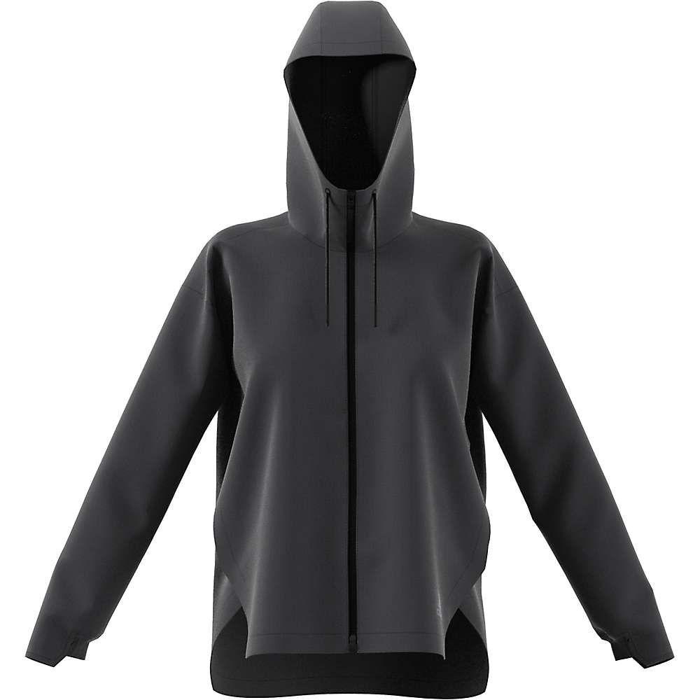 アディダス Adidas レディース ジャケット アウター【urban climastorm jacket】Carbon