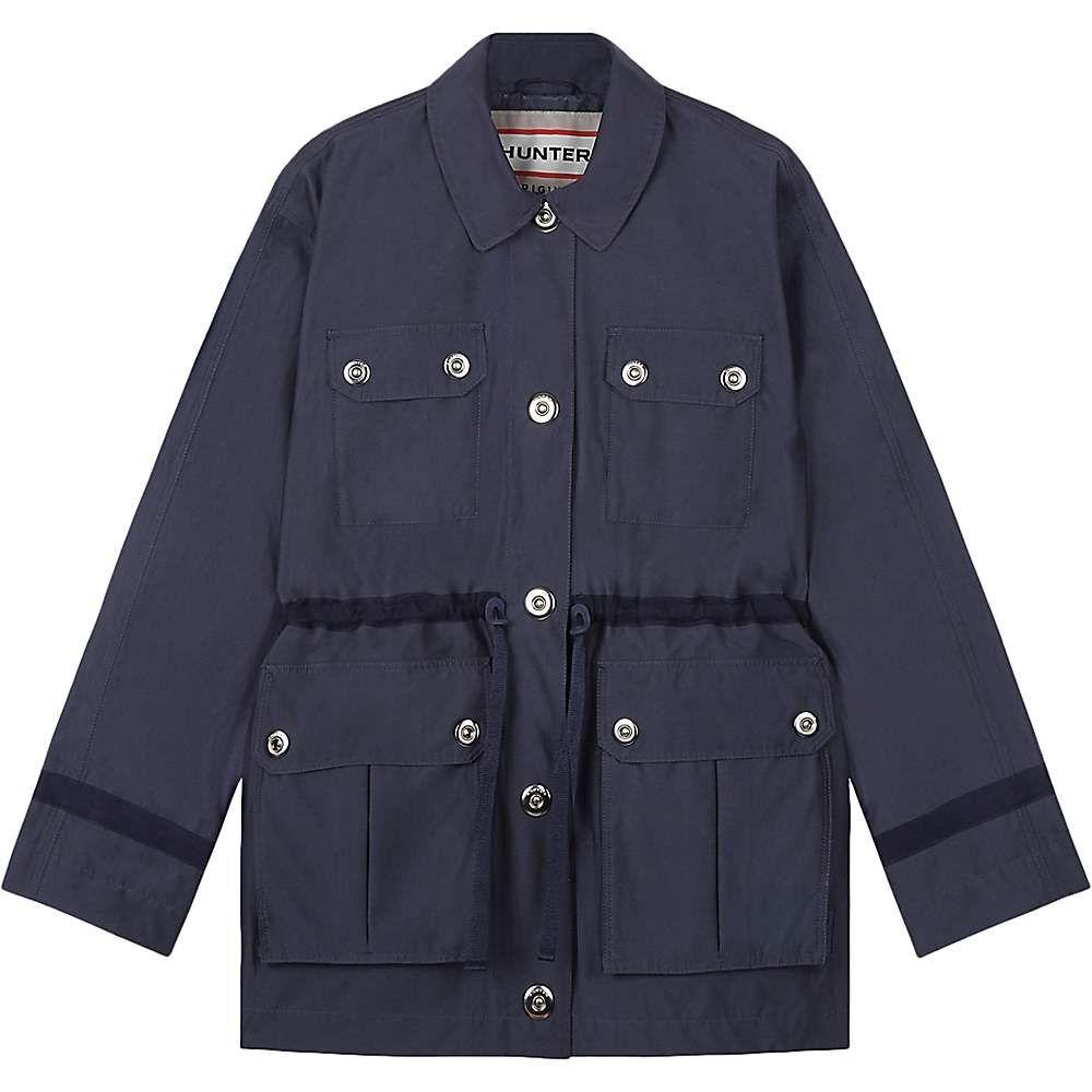 ハンター Hunter レディース ジャケット アウター【refined garden jacket】Navy