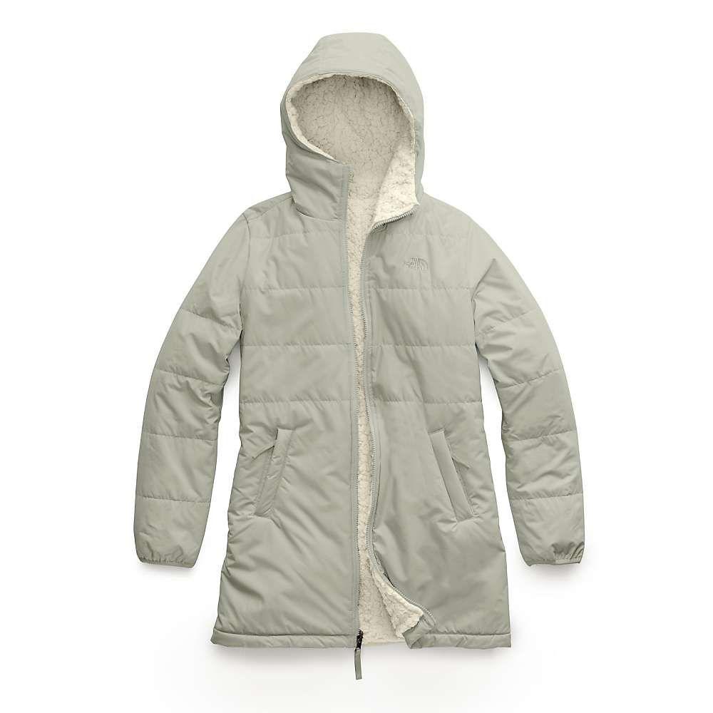 ザ ノースフェイス The North Face レディース コート アウター【merriewood reversible parka】Dove Grey/Vintage White