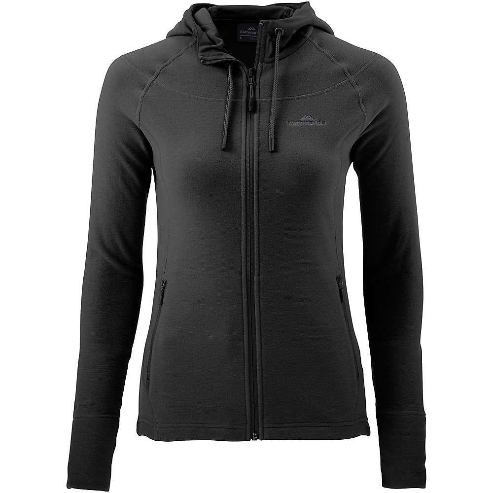 カトマンズ Kathmandu レディース ジャケット フード アウター【arenha hooded jacket】Black/Black