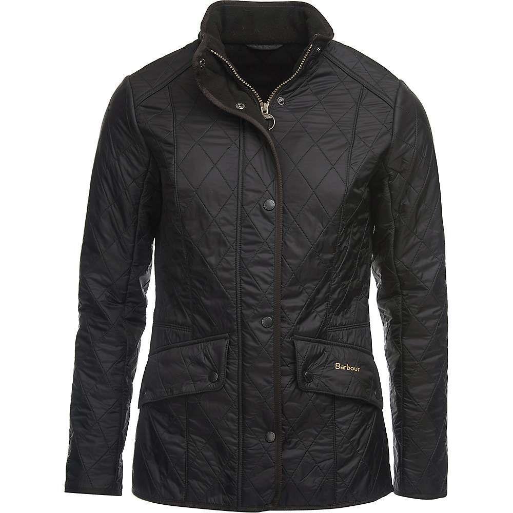 バブアー Barbour レディース ジャケット アウター【cavalry polarquilt jacket】Black