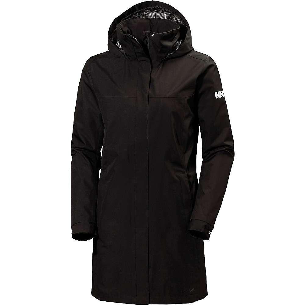 ヘリーハンセン Helly Hansen レディース ジャケット アウター【aden long jacket】BLACK