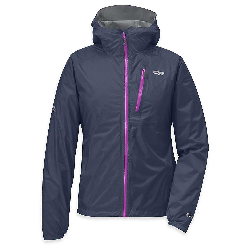 アウトドアリサーチ Outdoor Research レディース レインコート アウター【helium ii jacket】Night/Ultraviolet