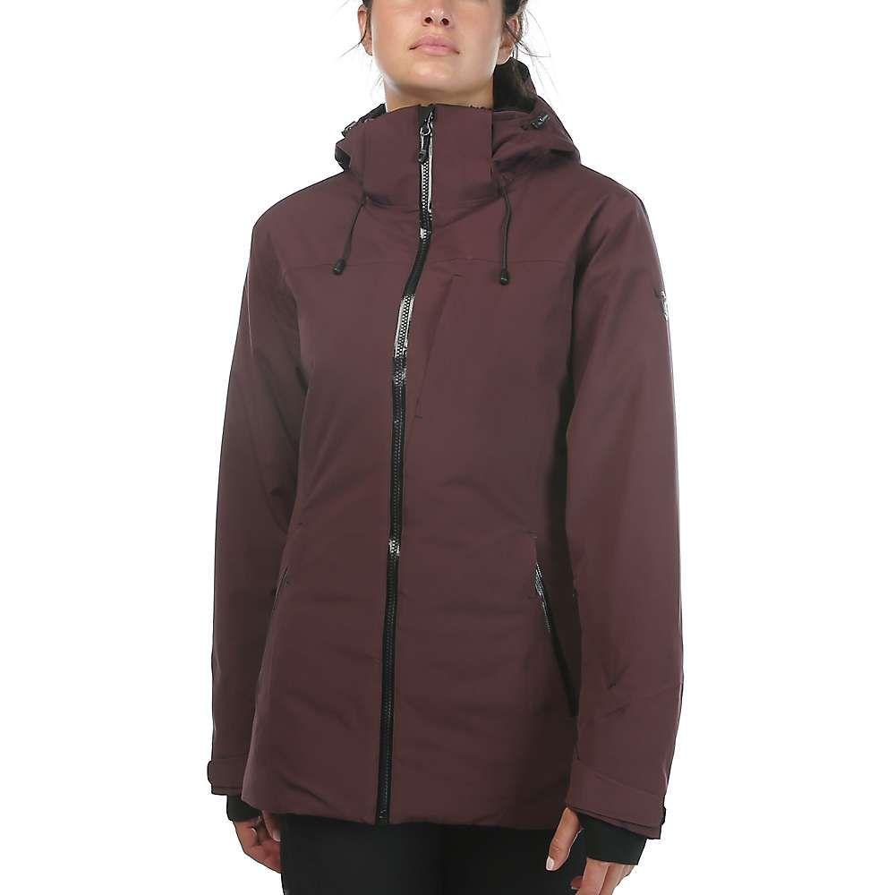 ムースジョー Moosejaw レディース レインコート アウター【mt. elliott insulated waterproof jacket】Bordeaux