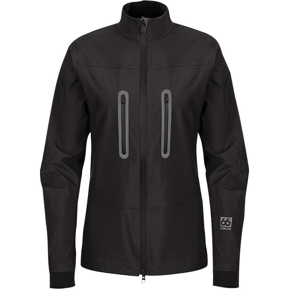 66ノース 66North レディース ジャケット アウター【stadarfell light neoshell jacket】Black