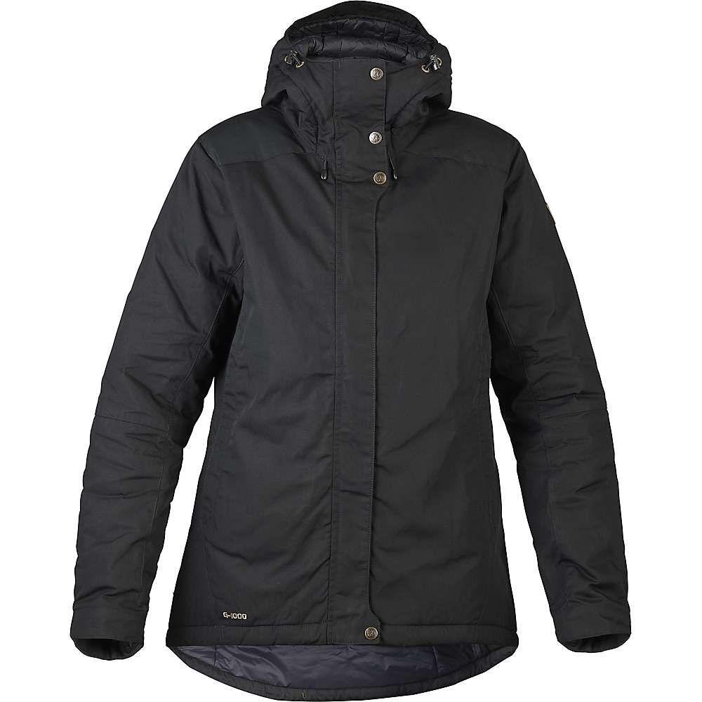 フェールラーベン Fjallraven レディース ダウン・中綿ジャケット アウター【skogso padded jacket】Black
