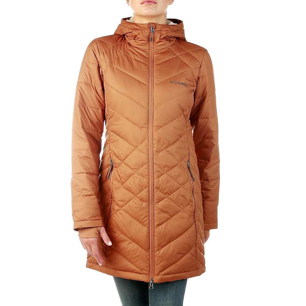 コロンビア Columbia レディース ジャケット フード アウター【heavenly long hooded jacket】Camel Brown