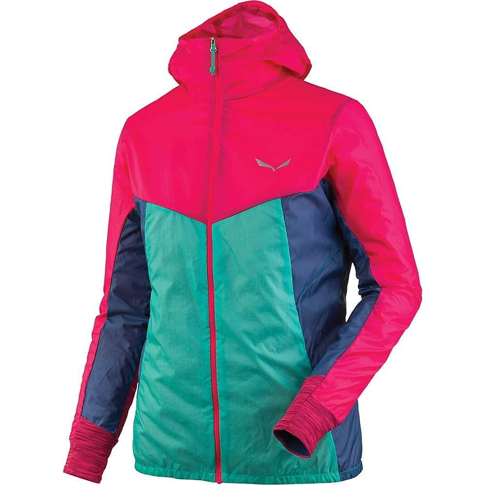 サレワ Salewa レディース ジャケット ウィンドブレーカー アウター pedroc wind jacket Rose RedOPZkuXi