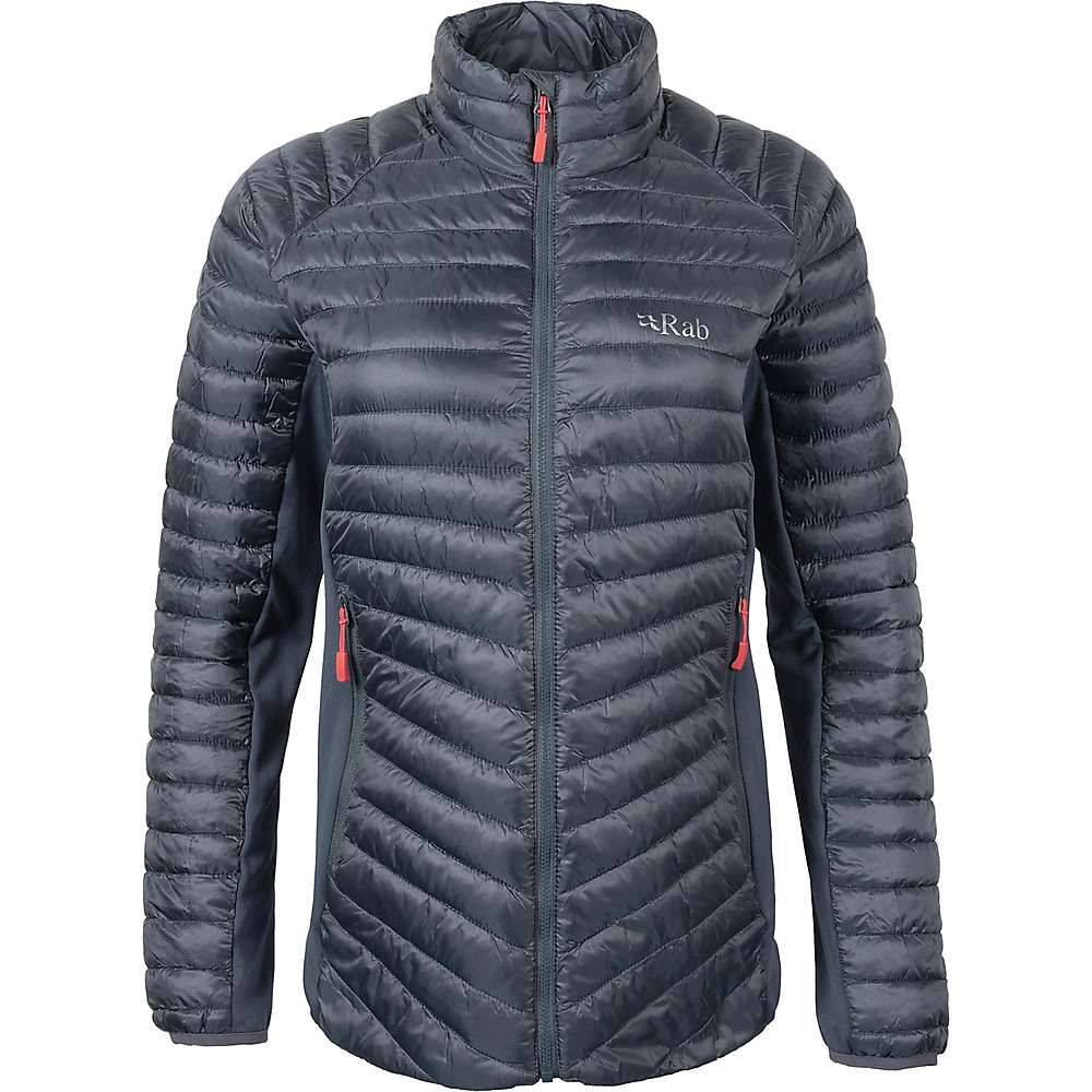 ラブ Rab レディース ジャケット アウター【cirrus flex jacket】Steel