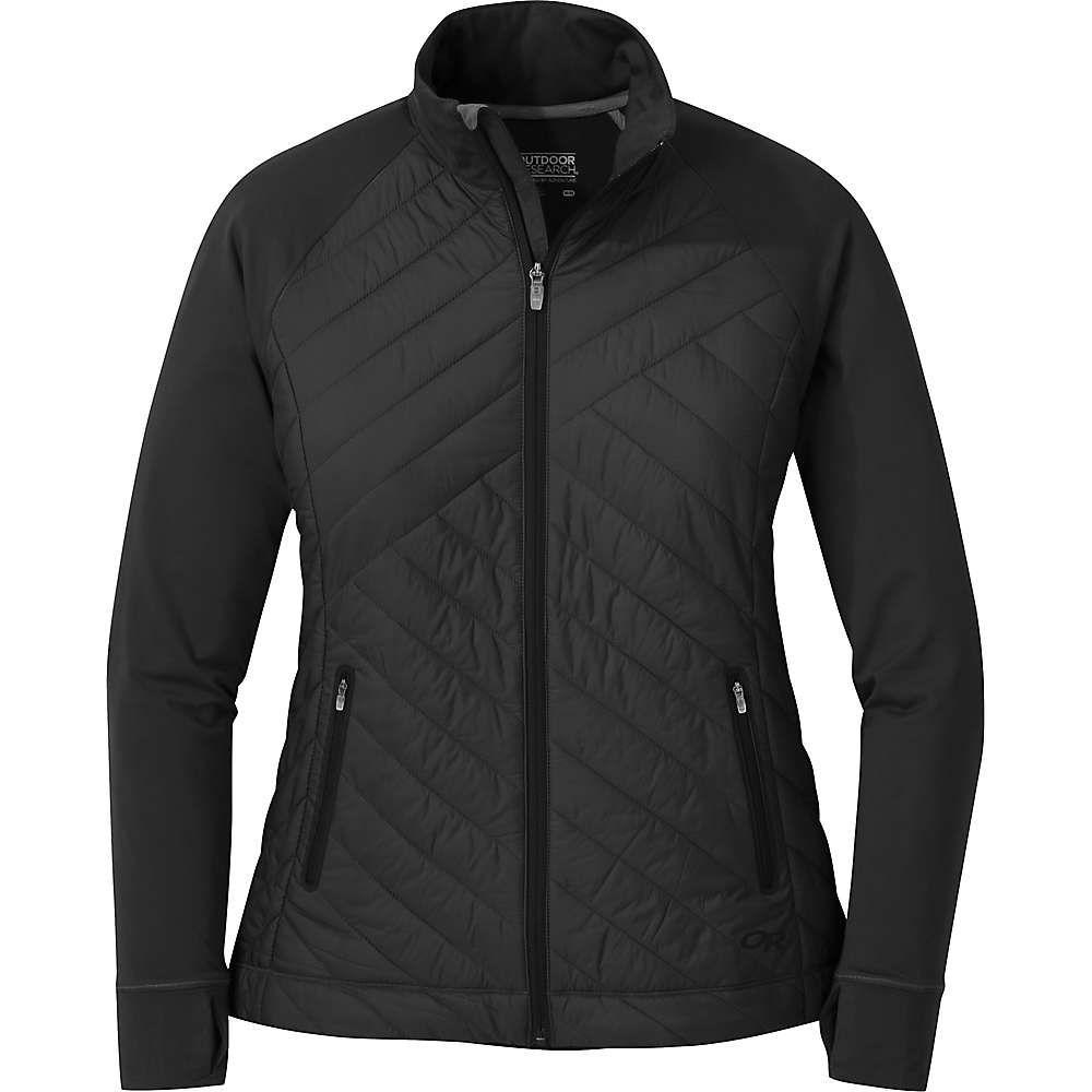 アウトドアリサーチ Outdoor Research レディース ジャケット アウター【melody hybrid full zip jacket】Black