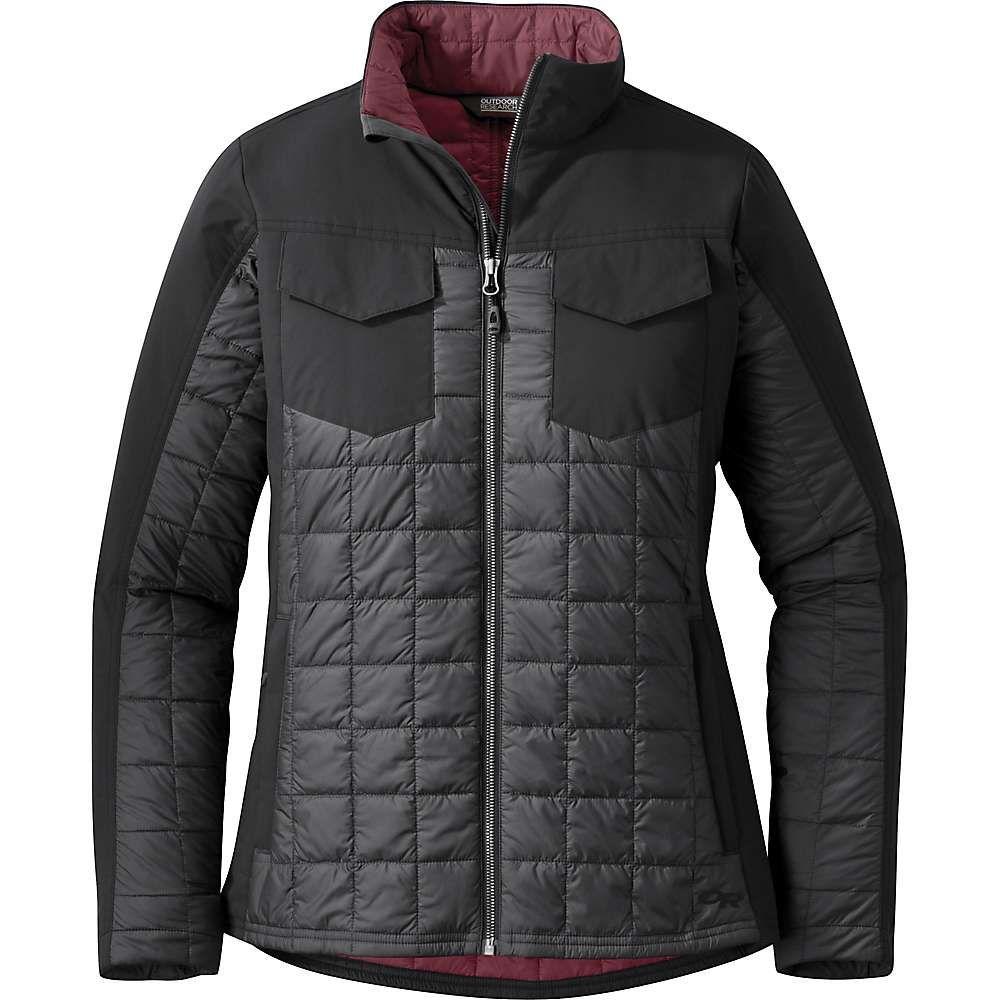 アウトドアリサーチ Outdoor Research レディース ジャケット アウター【prologue refuge jacket】Storm/Black