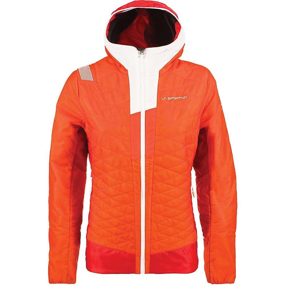 ラスポルティバ La Sportiva レディース ジャケット アウター【elysium primaloft jacket】Pumpkin/Garnet