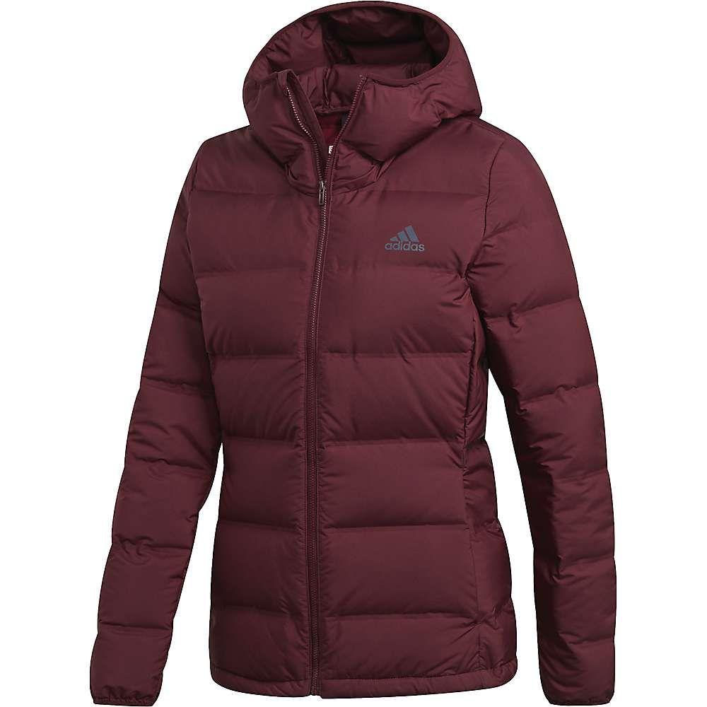 アディダス Adidas レディース ジャケット フード アウター【helionic hooded jacket】Maroon