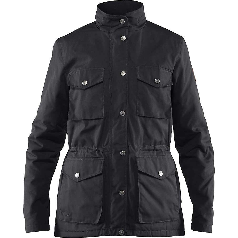 フェールラーベン Fjallraven レディース ダウン・中綿ジャケット アウター【raven padded jacket】Black