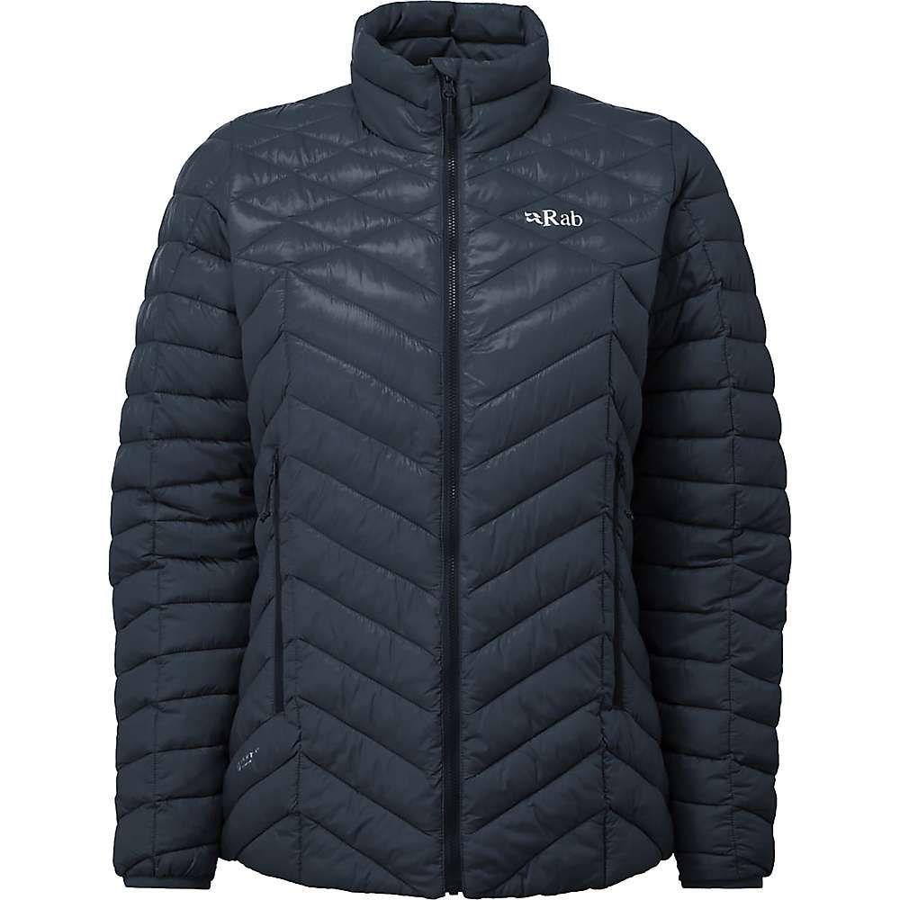 ラブ Rab レディース ジャケット アウター【altus jacket】Beluga/Seaglass