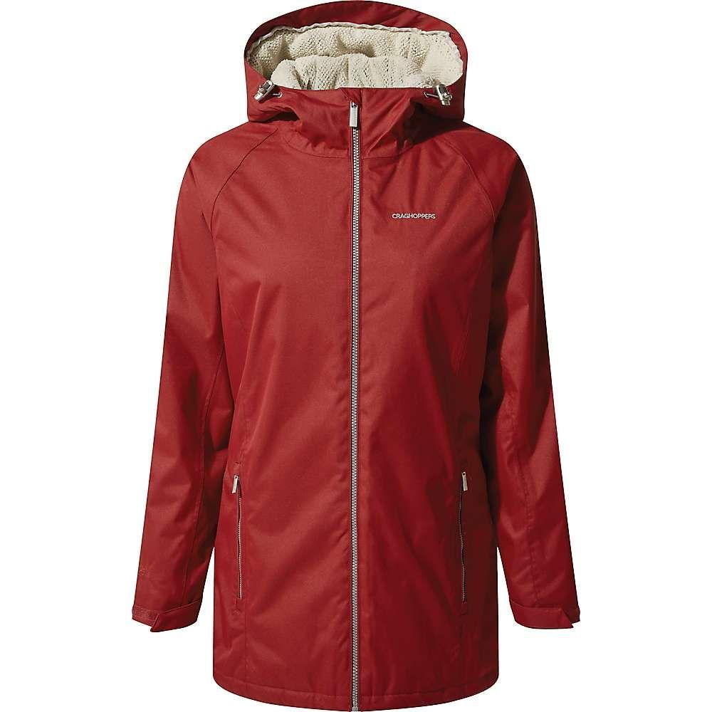 クラッグホッパーズ Craghoppers レディース ジャケット アウター【madigan classic thermic ii jacket】Fire Red