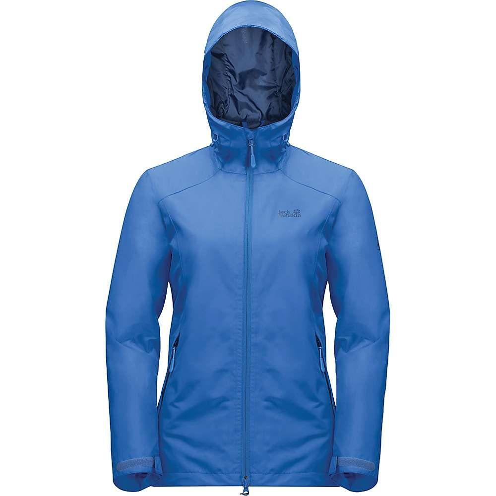 ジャックウルフスキン Jack Wolfskin レディース ジャケット アウター【chilly morning jacket】Zircon Blue