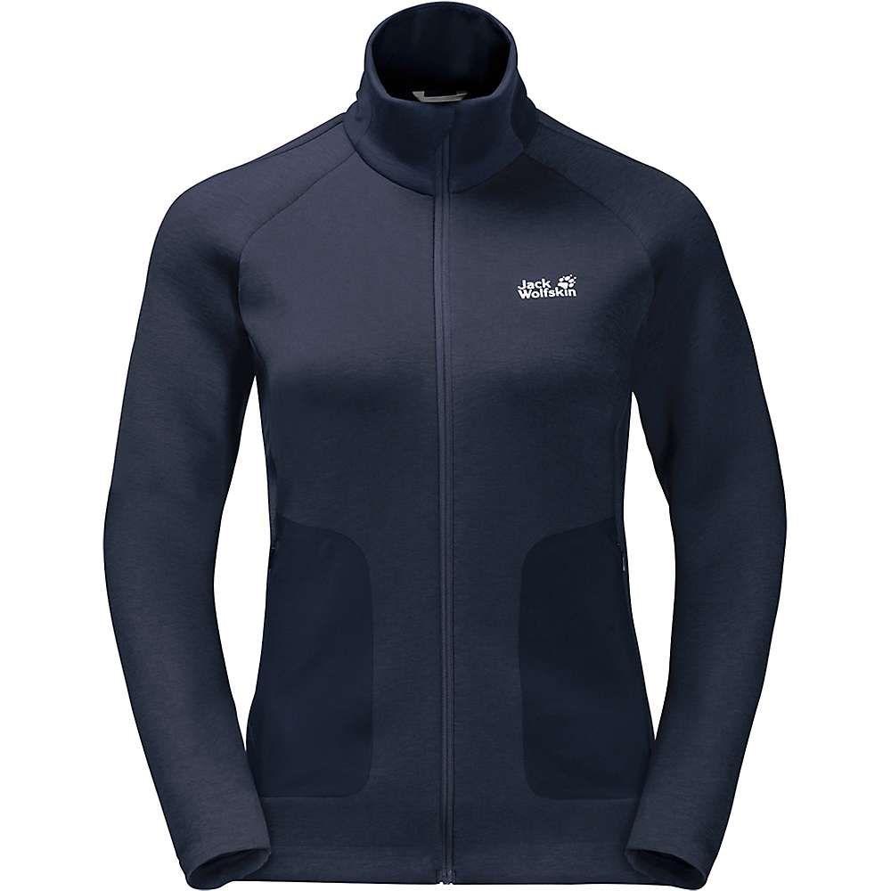 ジャックウルフスキン Jack Wolfskin レディース ジャケット アウター【narvik trail jacket】Midnight Blue