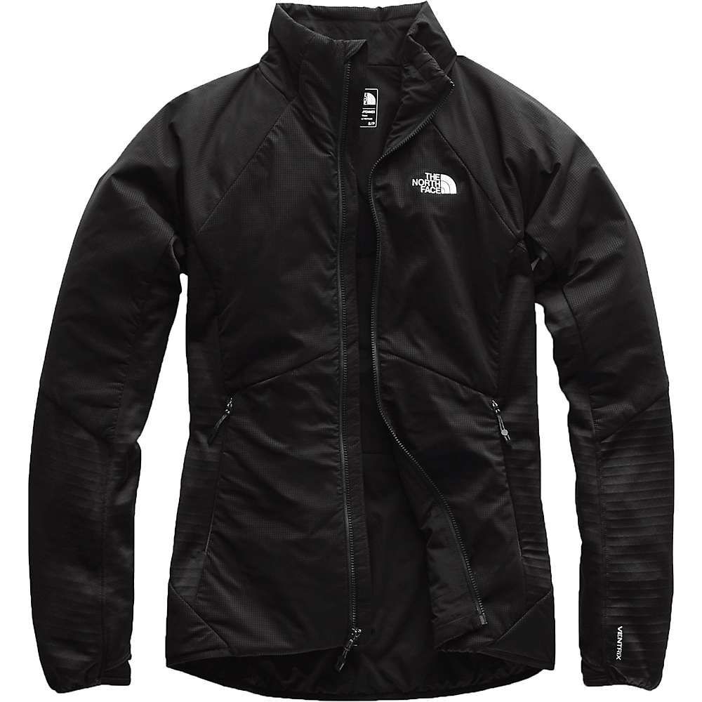 ザ ノースフェイス The North Face レディース フリース トップス【ventrix lt fleece hybrid jacket】TNF Black/TNF Black