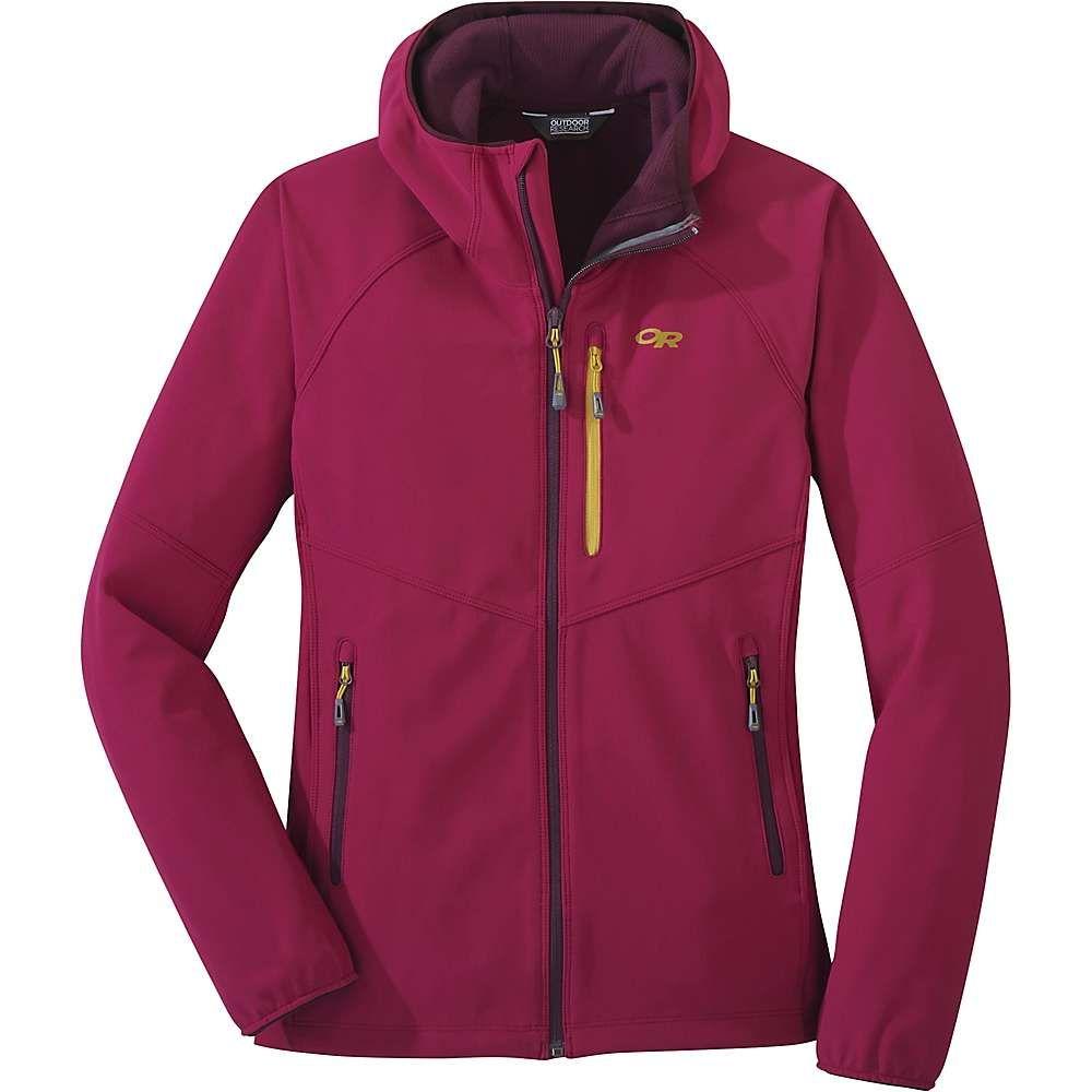 アウトドアリサーチ Outdoor Research レディース ジャケット フード アウター【ferrosi grid hooded jacket】Beet