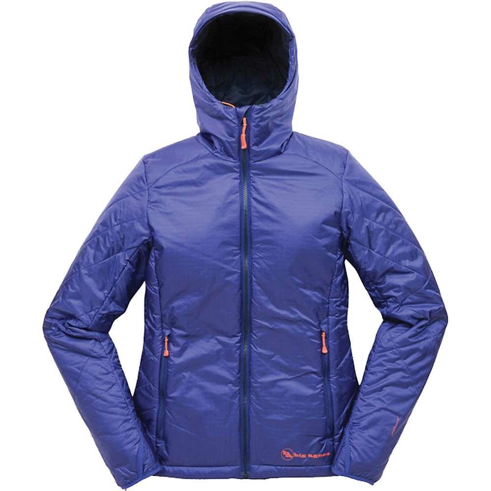 ビッグアグネス Big Agnes レディース ジャケット フード アウター【yarmony hooded jacket】Cobalt/Navy