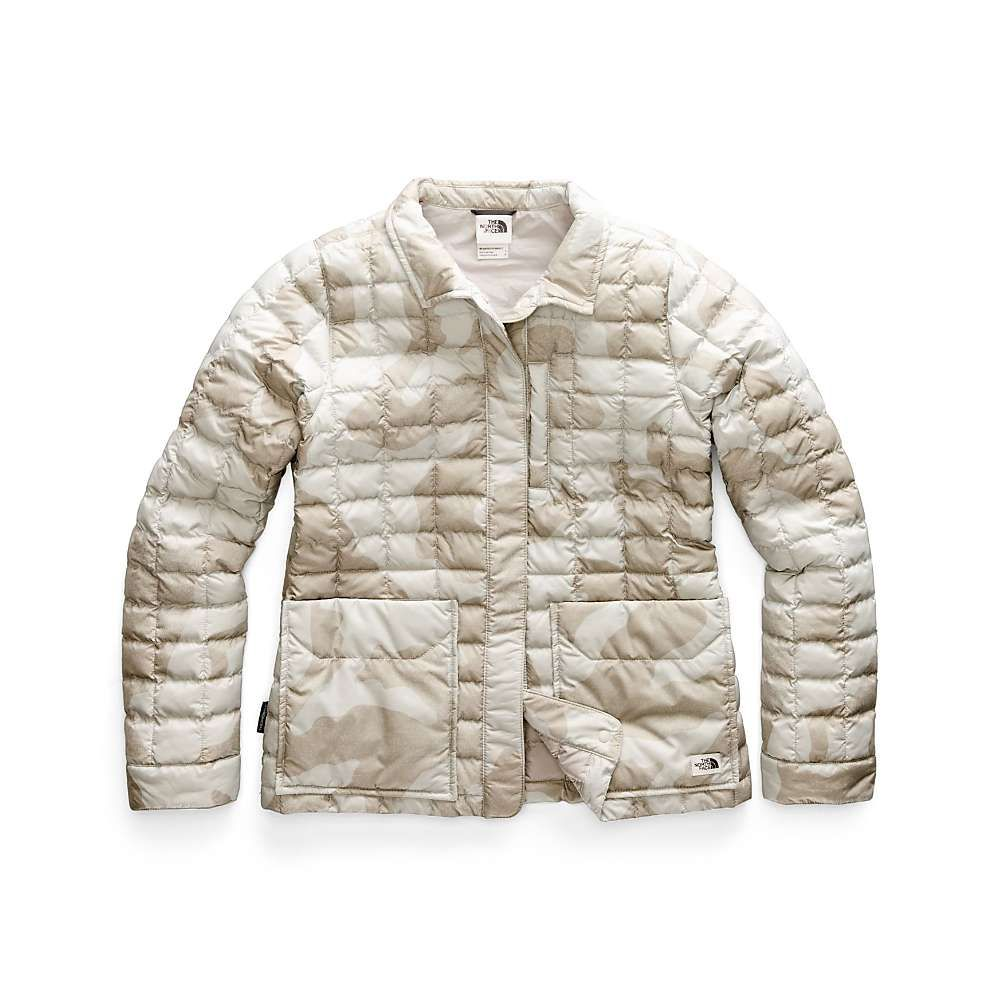ザ ノースフェイス The North Face レディース ジャケット アウター【thermoball eco snap jacket】Dove Grey Oversized Textured Camo Print