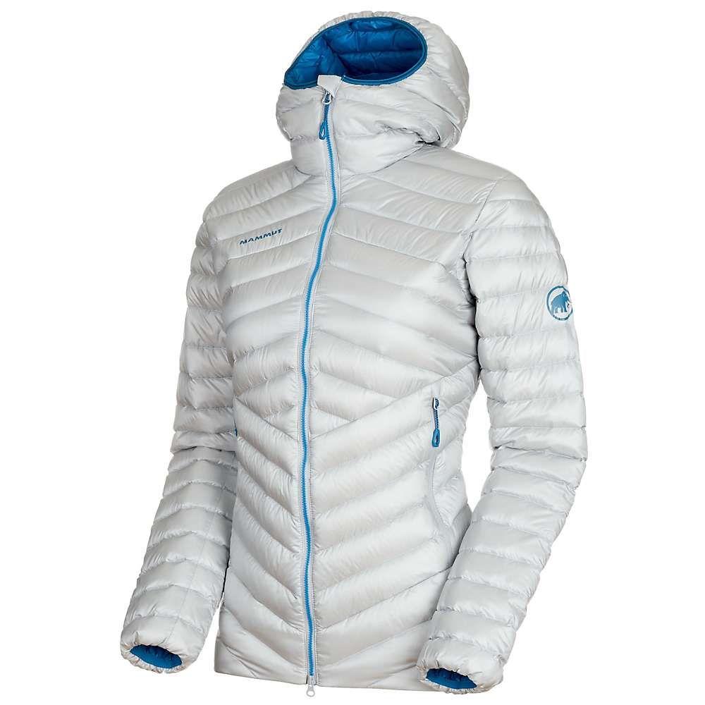 マムート Mammut レディース ダウン・中綿ジャケット フード アウター【broad peak in hooded jacket】Highway/Sapphire
