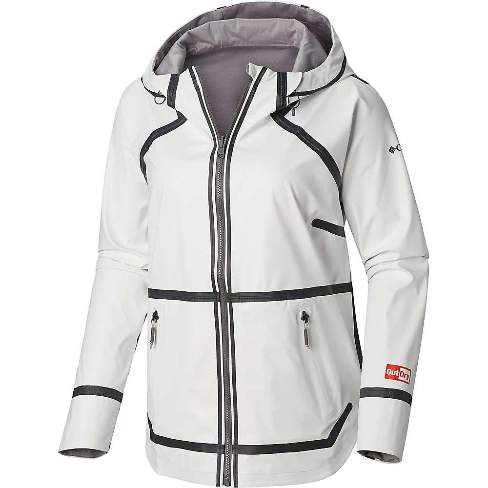 コロンビア Columbia レディース レインコート アウター titanium outdry ex reversible ii jacket White0v8wNmn