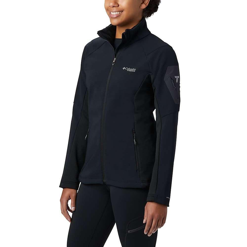 コロンビア Columbia レディース ジャケット アウター【titanium titan ridge 2.0 hybrid jacket】Black
