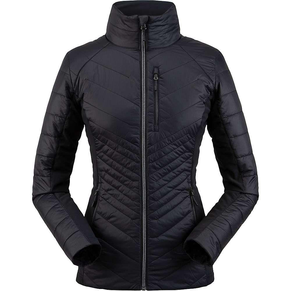 スパイダー Spyder レディース ジャケット アウター【glissade hybrid insulator jacket】Black
