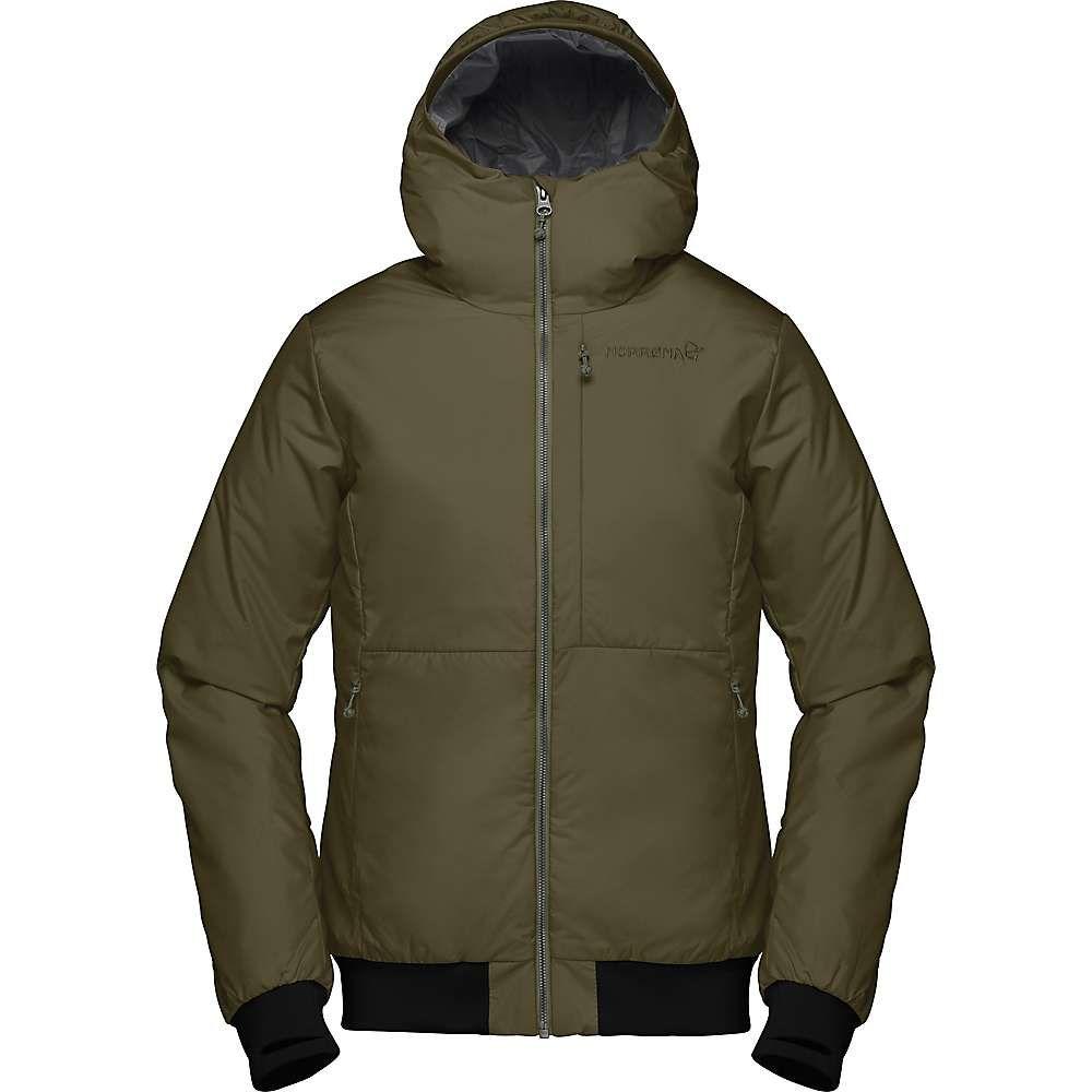 ノローナ Norrona レディース ジャケット フード アウター【roldal insulated hooded jacket】Olive Night