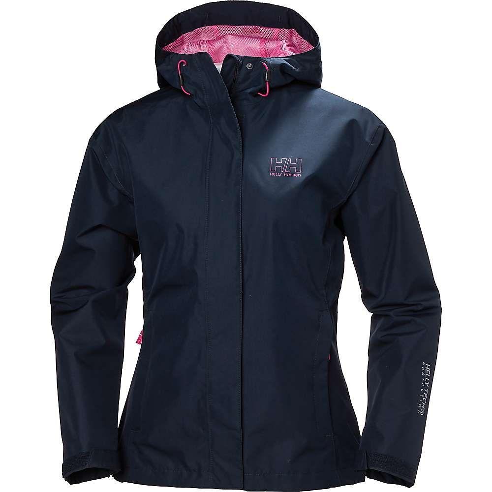 ヘリーハンセン Helly Hansen レディース レインコート アウター【seven j jacket】Navy