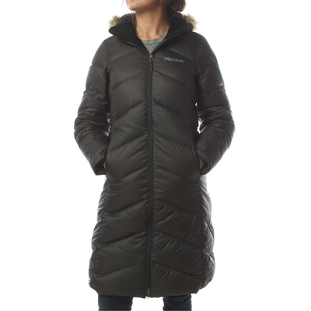 マーモット Marmot レディース ダウン・中綿ジャケット アウター【montreaux coat】Black