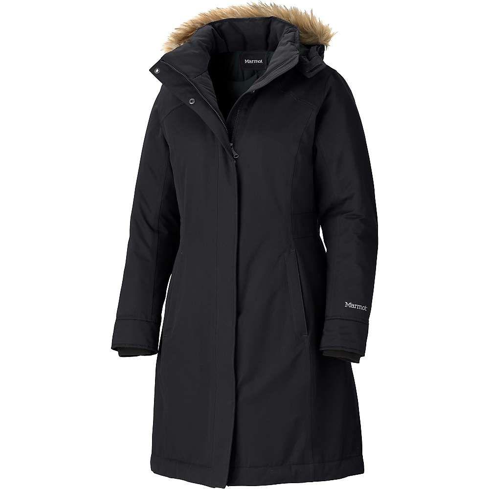 マーモット Marmot レディース ダウン・中綿ジャケット アウター【chelsea coat】Black