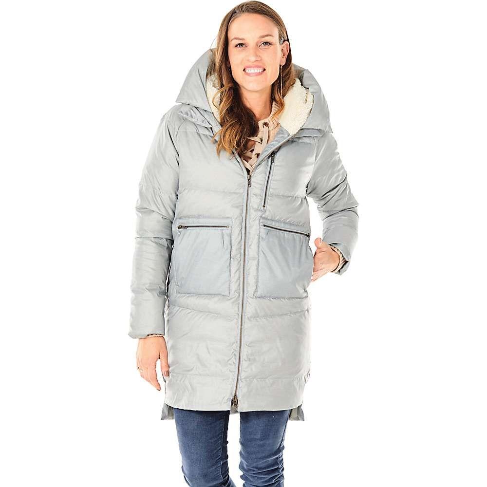 カーヴデザイン Carve Designs レディース ダウン・中綿ジャケット アウター【davos long down jacket】Glacier