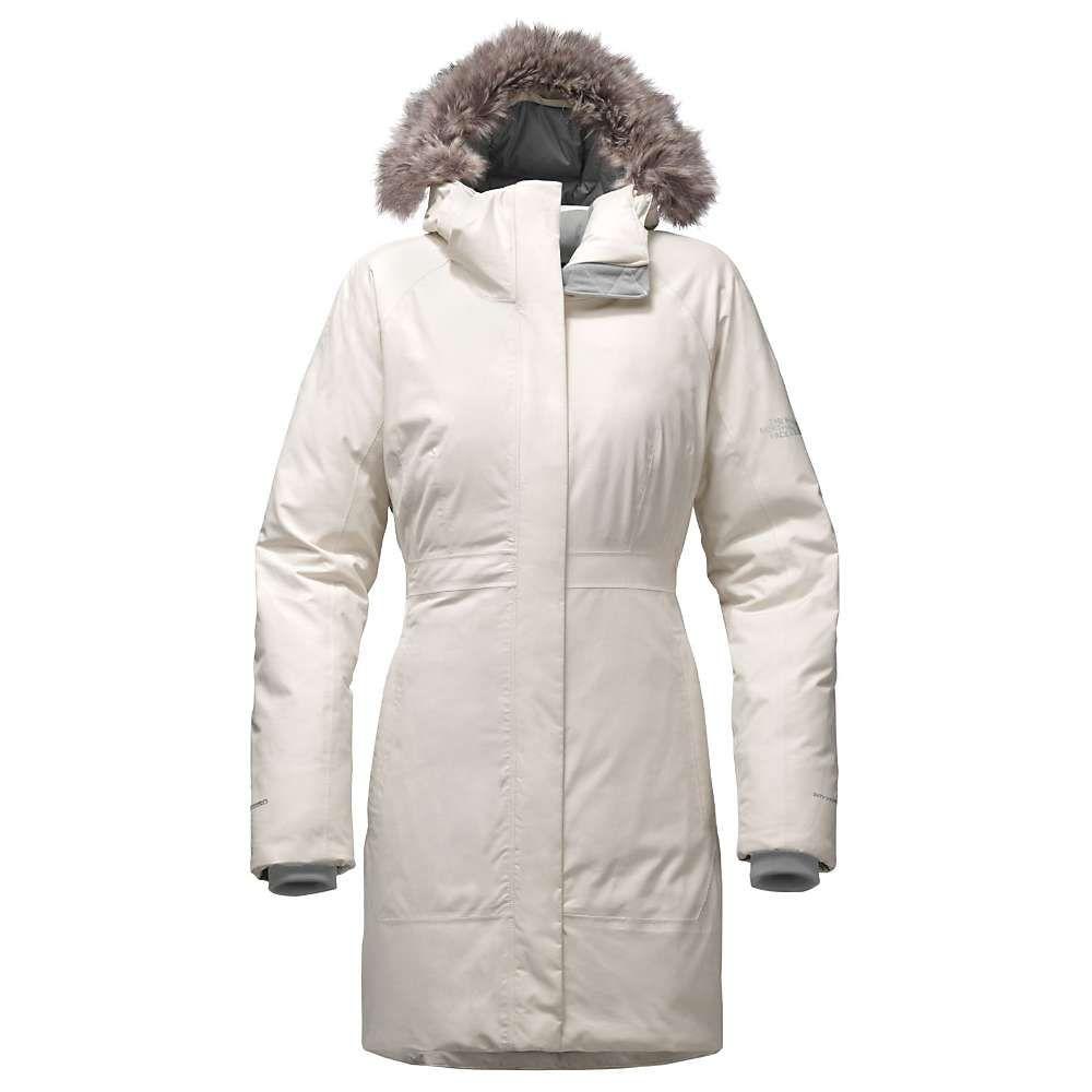 ザ ノースフェイス The North Face レディース ダウン・中綿ジャケット アウター【arctic parka ii】Vintage White