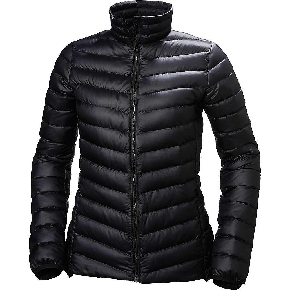 ヘリーハンセン Helly Hansen レディース ダウン・中綿ジャケット アウター【verglas down insulator jacket】Black