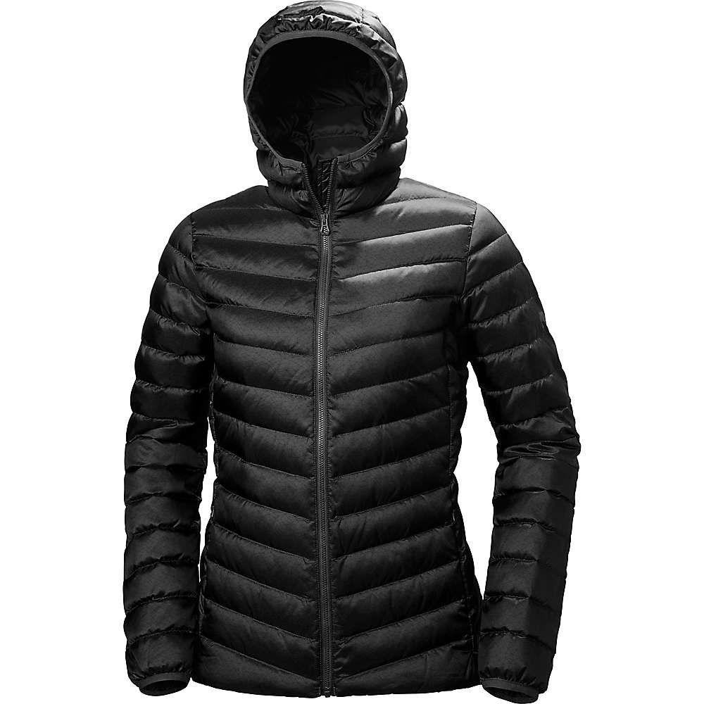 ヘリーハンセン Helly Hansen レディース ダウン・中綿ジャケット フード アウター【verglas hooded down insulator jacket】Black