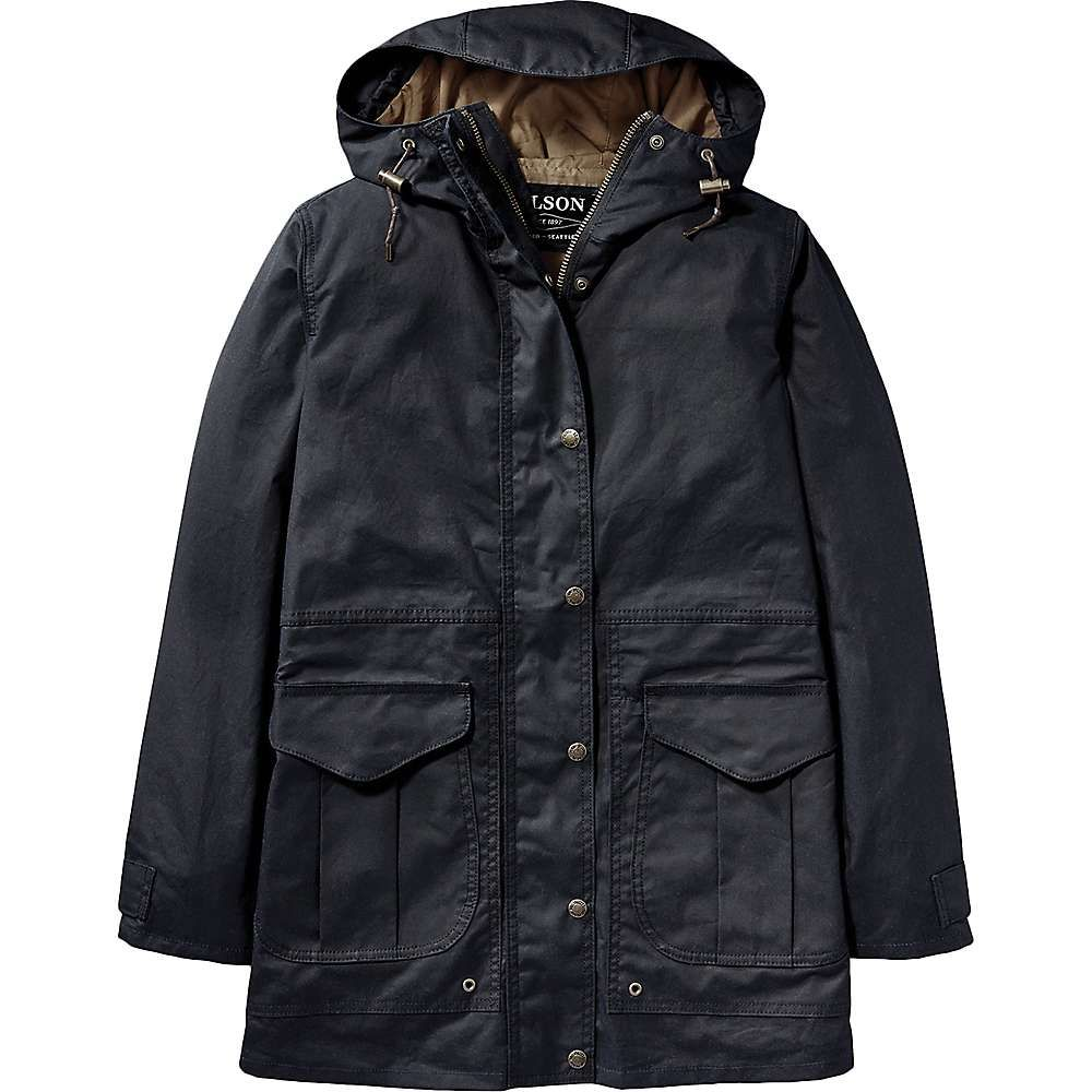 フィルソン Filson レディース レインコート アウター【pinedale all season rain jacket】Navy