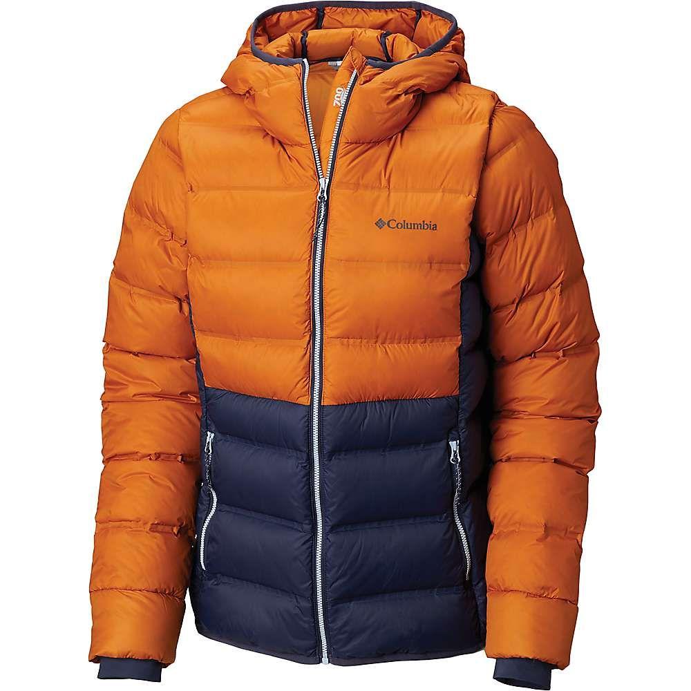 コロンビア Columbia レディース ダウン・中綿ジャケット フード アウター【explorer falls hooded jacket】Nocturnal/Bright Copper