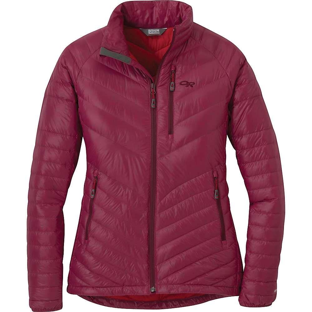 アウトドアリサーチ Outdoor Research レディース ダウン・中綿ジャケット アウター【illuminate down jacket】Garnet