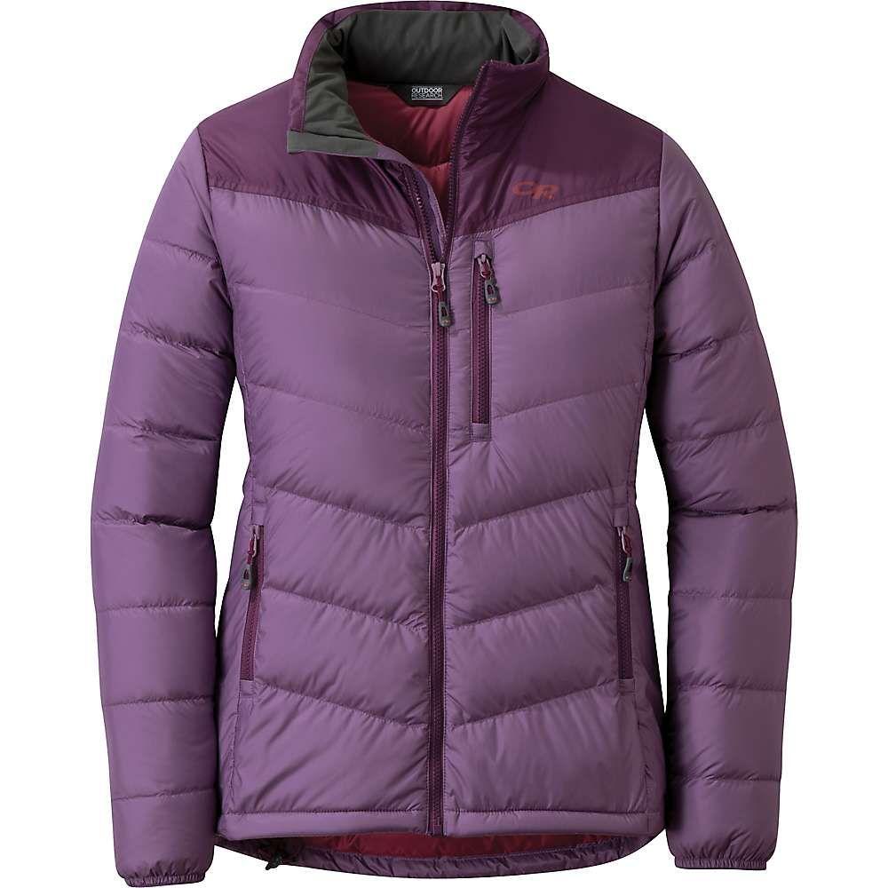 アウトドアリサーチ Outdoor Research レディース ダウン・中綿ジャケット アウター【transcendent down jacket】Amethyst/Pacific Plum