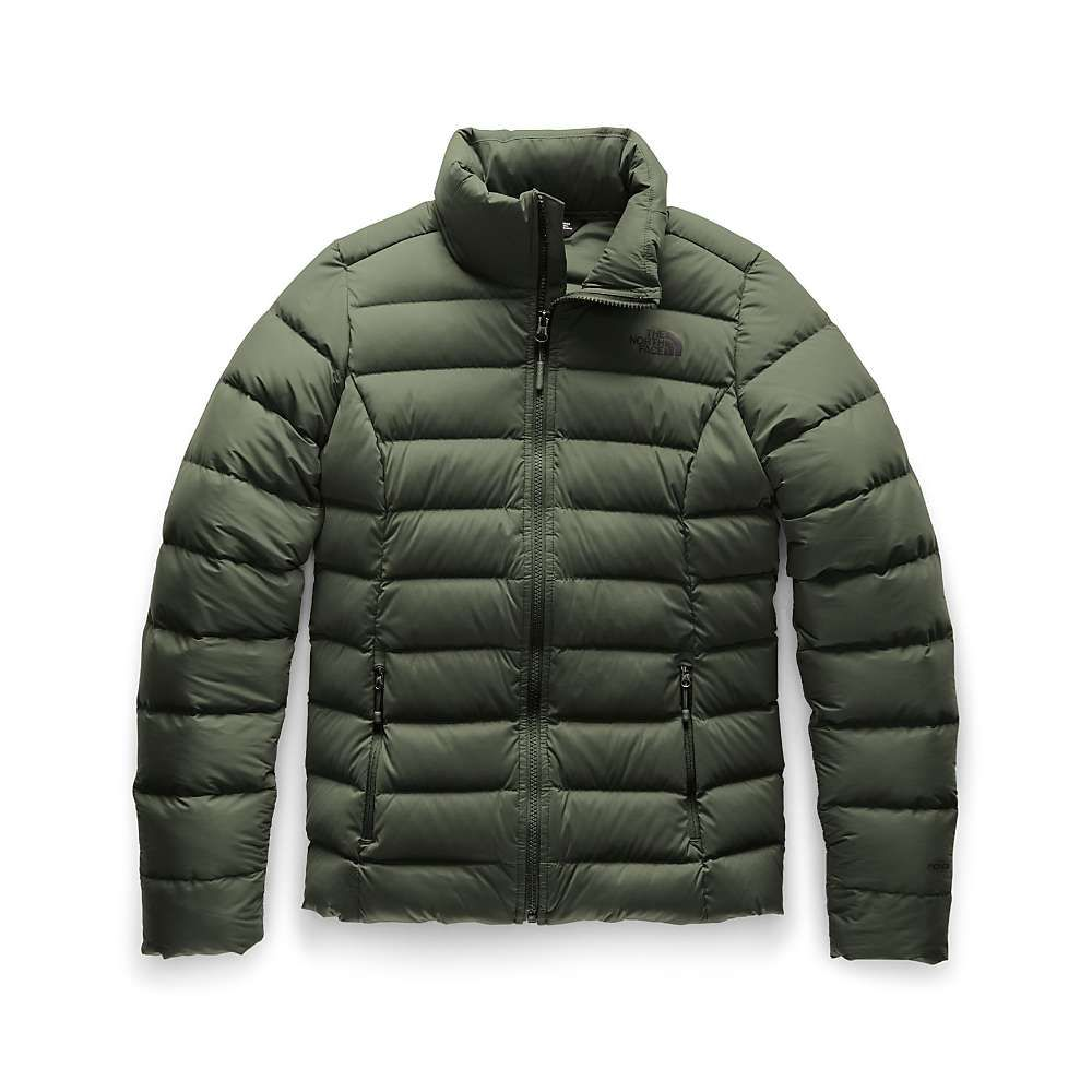 The ダウン・中綿ジャケット North down レディース Face Green jacket】New ザ ノースフェイス アウター【stretch Taupe