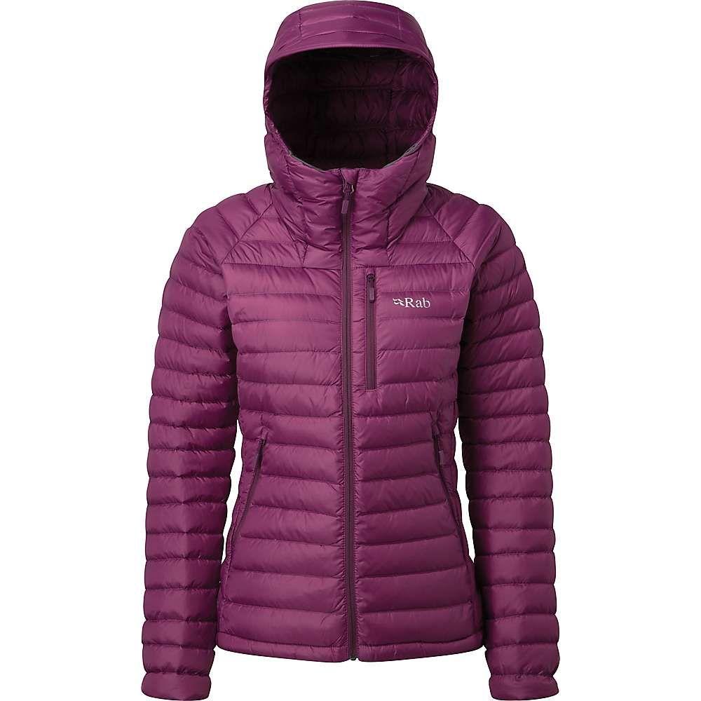 ラブ Rab レディース ダウン・中綿ジャケット アウター【microlight alpine jacket】Violet/Dark Violet