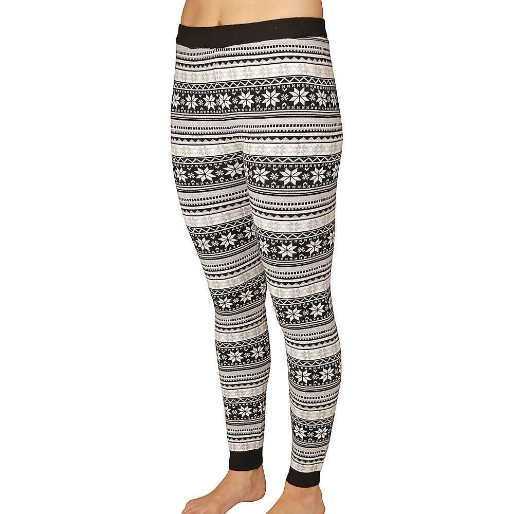 ホットチリーズ Hot Chillys レディース スパッツ・レギンス インナー・下着【sweater knit printed legging】Winter Vibe