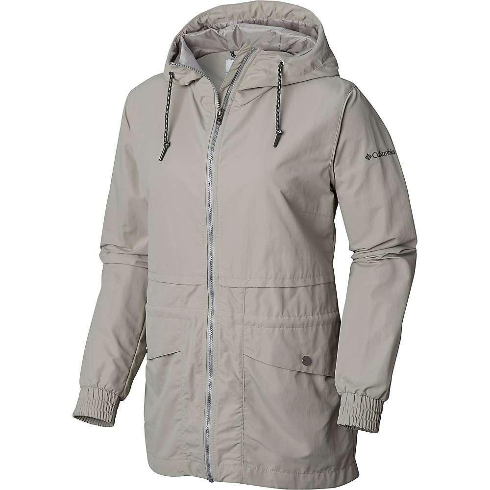 コロンビア Columbia レディース レインコート アウター【day trippin' jacket】Flint Grey