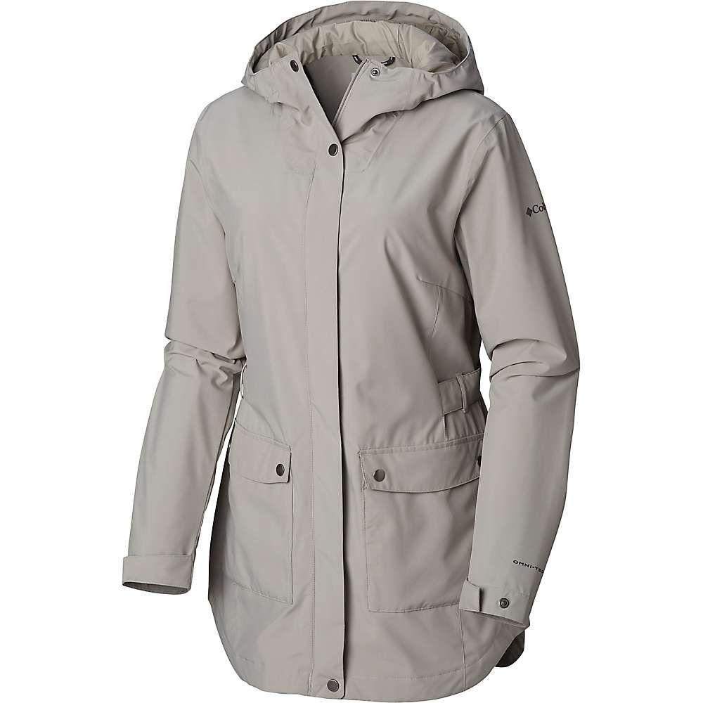 コロンビア Columbia レディース トレンチコート アウター【here and there trench jacket】Flint Grey